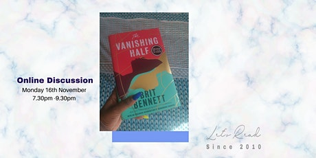 Let's Read: The Vanishing Half by Brit Bennett tickets