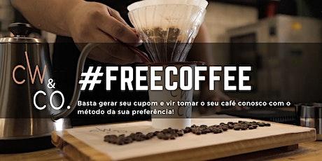 #FREECOFFEE o seu café é por nossa conta!