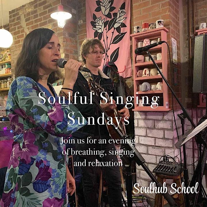 Soulful Singing Sundays image