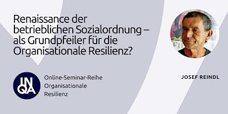 Renaissance der betrieblichen Sozialordnung - Organisationale Resilienz Tickets