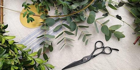 Winterkranz-Workshop mit Eukalyptus tickets