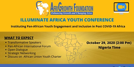 ILLUMINATE AFRICA YOUTH CONFERENCE tickets