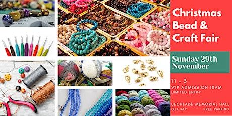 Christmas Bead & Craft Fair tickets