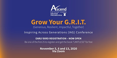 Grow Your G.R.I.T. (Generous, Resilient, Impactful, Together) tickets