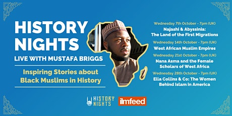 History Nights Live with Mustafa Briggs tickets