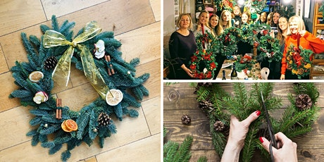 Make Your Own Fresh Christmas Wreath tickets