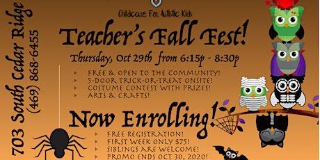 Teacher's Fall Fest! tickets