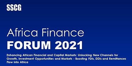 SSCG Finance Forum 2021 - Enhancing African Financial and Capital Markets tickets