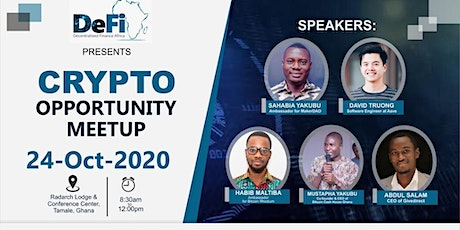 CRYPTO OPPORTUNITY MEETUP tickets