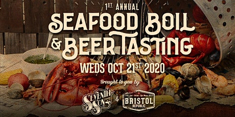 Seafood Boil & Seventh Son Beer Tasting tickets