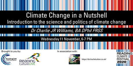 Climate Change in a Nutshell (brought to you by Reading Culture Live) tickets