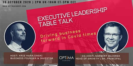 Exec Leadership Table Talk (Oct '20) tickets