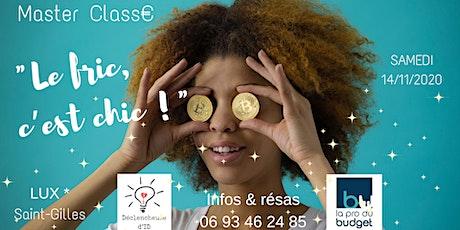 Masterclass : Equilibrez durablement votre relation à l'argent billets
