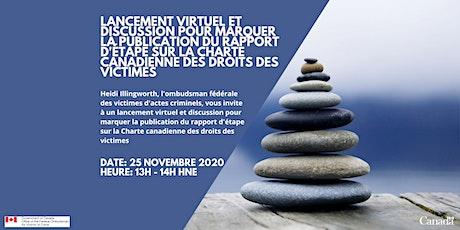 Lancement virtuel & discussion sur le rapport d'étape sur la CCDV billets