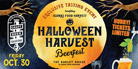 HALLOWEEN HARVEST BEERFEST pres. by Springfield Craft Beer Collective tickets