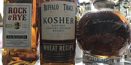 Try it Series: BT Kosher Wheated Bourbon, A. Doubleday and Rock & Rye tickets