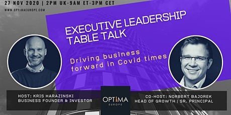Exec Leadership Table Talk (Nov '20) tickets