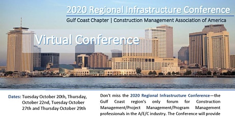 2020 Regional Infrastructure Conference tickets