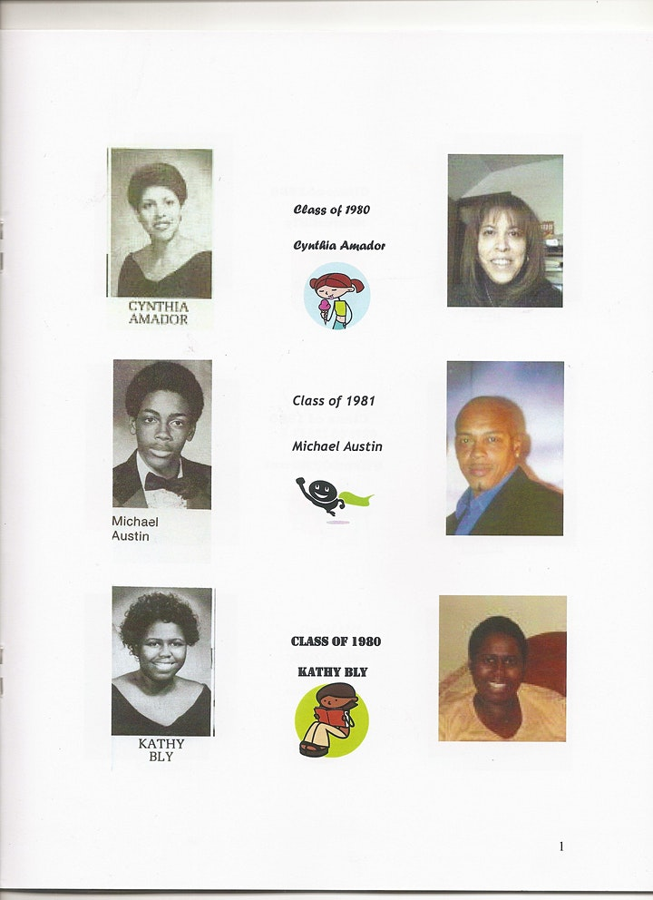 40 plus  years WELCOME BACK THEODORE ROOSEVELT HIGH SCHOOL ALUMNI 2021 image