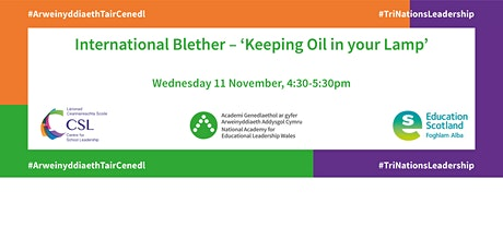 International Blether – 'Keeping Oil in your Lamp' tickets