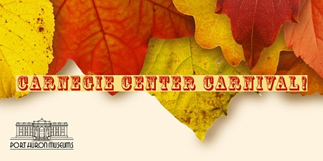 Carnegie Center Carnival - Fall Family Edition! tickets