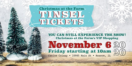 Christmas at the Farm Tinsel Tickets 2020 tickets