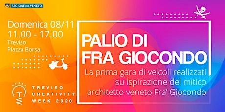 Palio di Fra' Giocondo:  la gara di veicoli progettati dai bambini biglietti
