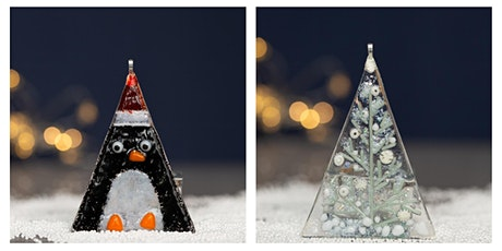 Festive Fused glass decoration or curve workshop Sunday15th Nov 3-5pm tickets