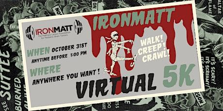 Ironmatt 2020 Halloween Virtual 5k tickets