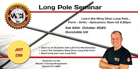 Wing Chun Weapon -  Long Pole Seminar 2020 tickets