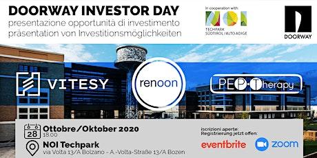 Doorway Investor Day Bolzano Tickets