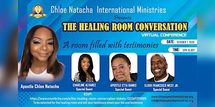 The Healing Room Conversation image