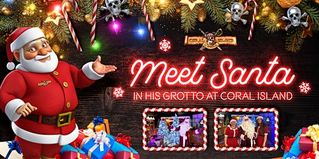 Meet Santa in his Coral Island Grotto - Blackpool 2020 tickets
