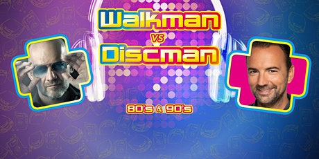 Walkman vs Discman in Heiloo (Noord-Holland) 10-12-2021 tickets