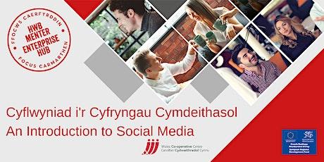 Cyflwyniad i'r Cyfryngau Cymdeithasol | An Introduction to Social Media tickets