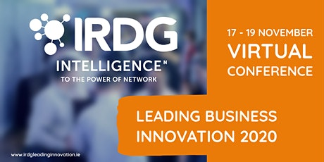 IRDG Leading Business Innovation 2020 - 17 to 19 Nov tickets
