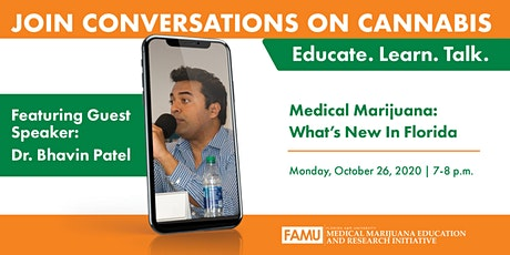 Conversations on Cannabis | Medical Marijuana: What's New in Florida tickets