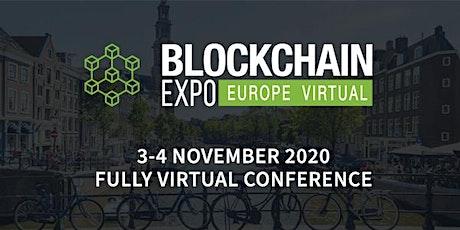 Blockchain Expo Europe Virtual 2020 tickets