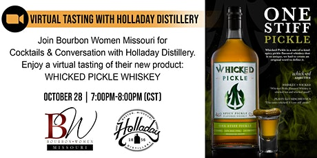 Zoom Tasting with Holladay Distillery, Missouri tickets