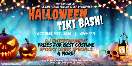 Halloween Tiki Bar Bash tickets