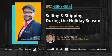 Selling and Shipping During the Holiday Season with eCommerce Canada tickets