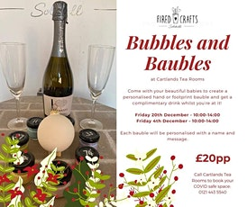 Bubbles & Baubles tickets