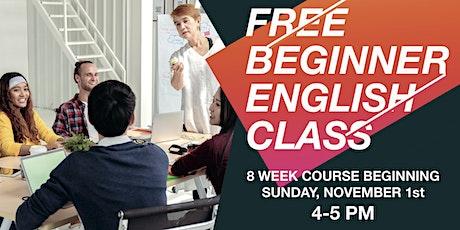 Free ESL Classes tickets