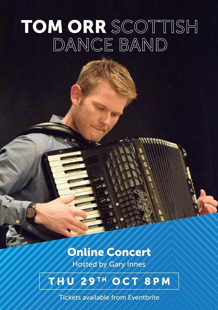 Tom Orr & his Scottish Dance Band live in concert with compere Gary Innes. image