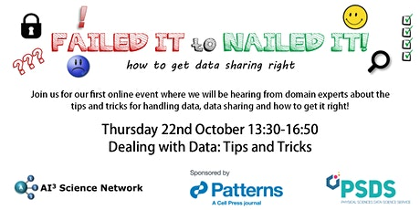 Failed it to Nailed it: Dealing with Data - Tips & Tricks! tickets