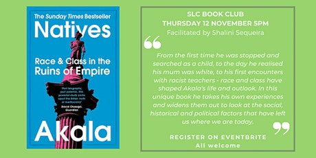 SLC Book Club: 12 November 2020 from 5pm
