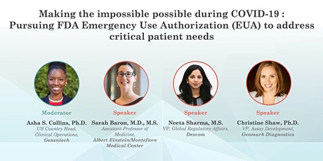 MedtechWomen Virtual Event:Making the impossible possible during COVID-19 tickets