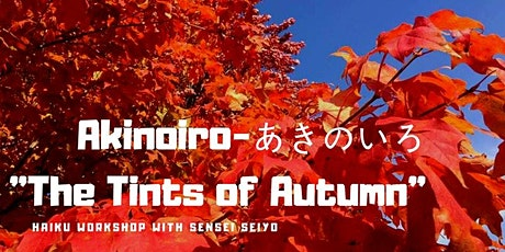 Virtual November Haiku Class tickets