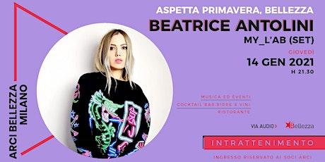Beatrice Antolini biglietti