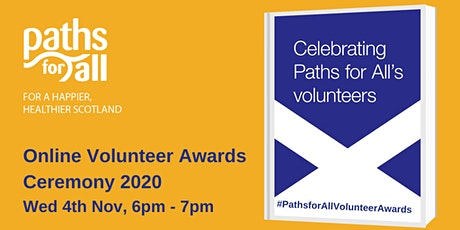 Volunteer Awards 2020 Online Ceremony tickets